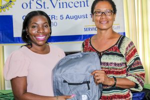 Rotary Club of St Vincent donates backpacks to six primary schools