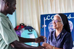 SJCM  Science  department receives help from alumni