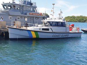 New Coast Guard  Medivac vessel  arrives