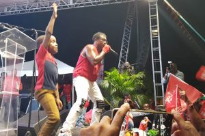 Star boy shines with dance moves