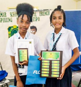 GHS wins French spelling bee competition
