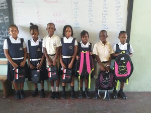 Brighton Methodist School expresses thanks to the Jems Hope for donation
