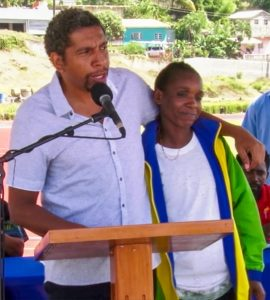 Sir Vincent Beache  National  Stadium officially opened
