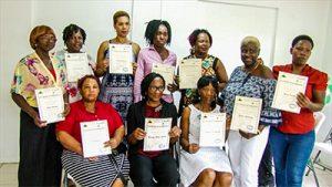 Craft women continue to retool their skills