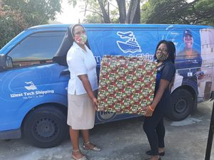 West Tech  Shipping thanks Christmas Toy Drive partners