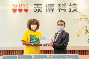 Taiwan firms donate  protective masks and  rapid tests  to SVG