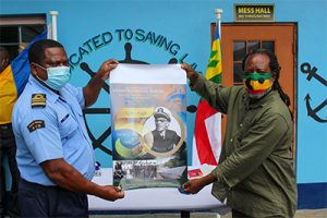 Ceremony held to mark the 50th year of Captain Hugh Nathaniel Mulzac's passing