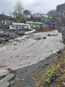 Heavy, persistent showers wreak havoc throughout SVG
