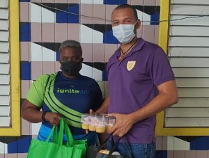 Sagicor shares special moments with mothers at shelters