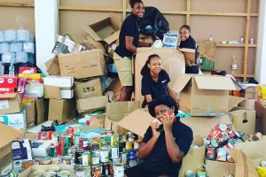 Young people volunteer to help those falling through the cracks
