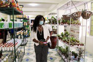 'World Class' garden centre opened in Layou