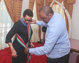 Ambassador King gets Kenya's 2nd highest  national honour