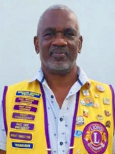 Lions Club South awards two members for outstanding work