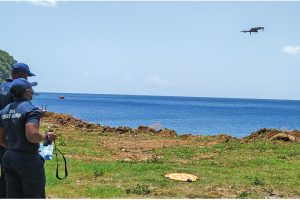 Island conservation takes off with drone training